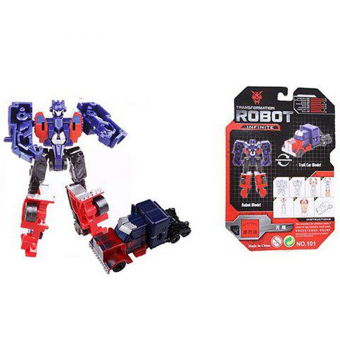 101 Mini Transformer Robot Model Toy Infinite for Children - COLORMIX