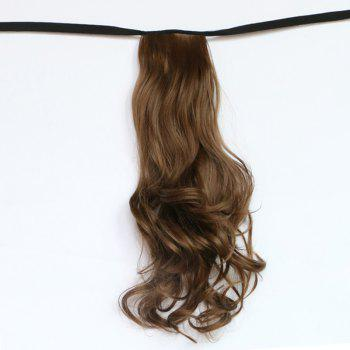 Fluffy Wavy Elegant Long Capless Fashion Synthetic Women's Ponytail