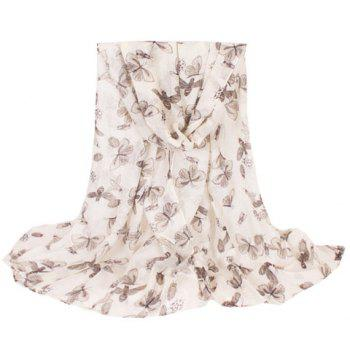 Chic Various Insect Pattern Women's Voile Scarf