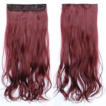 Shaggy Wave Synthetic Fashion Clip In Capless Stunning Long Women's Hair Extension