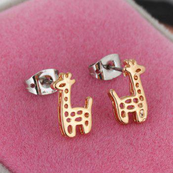 Pair of Giraffe Shape Earrings