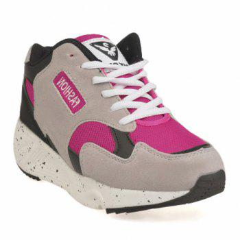 Trendy Splicing and Mesh Design Athletic Shoes For Women