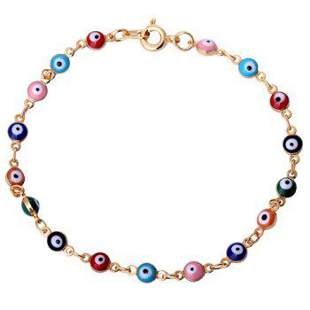 Chic Faux Eyes Beads Bracelet For Women