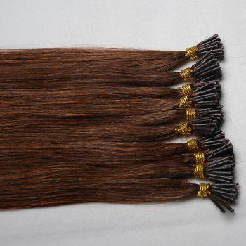 Fashion Long Stunning Silky Straight Women's Capless I-Tip Human Hair Extension -