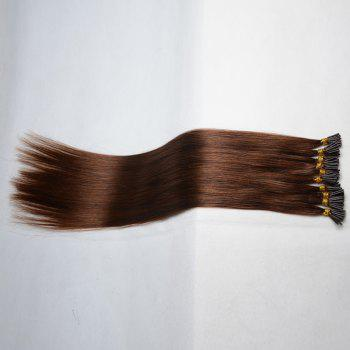 Fashion Long Stunning Silky Straight Women's Capless I-Tip Human Hair Extension