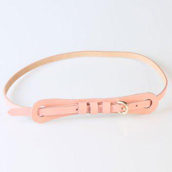 Chic Pin Buckle Candy Color Women's Slender Belt