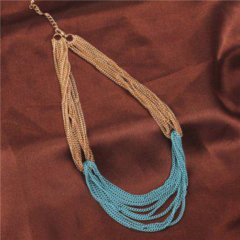 Multilayered Link Chain Sweater Chain - COLORMIX COLORMIX