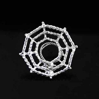 Chic Spider Web Hollow Out Nipple Jewelry For Women