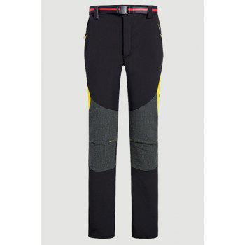 Buy Water-Repellent Fleeces Snow Pants Women BLACK