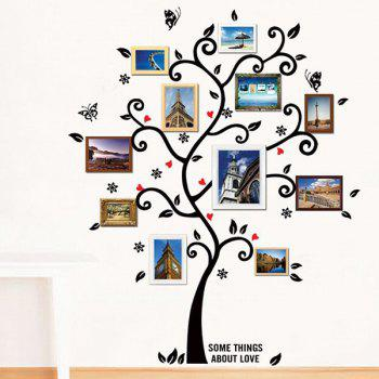 Good Quality Tree Pattern Removeable Decorative Background Wall Sticker