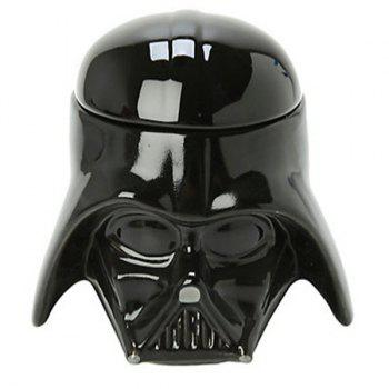 Cool Darth Vader Mug 3D Ceramic Coffee Cup 300ml - BLACK BLACK
