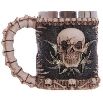 Cool Handled Skull Design 400ml Wine Coffee Tea Cup