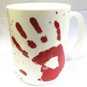 Creative 400ml Bloodstain Mug Heat Discoloration Coffee Tea Cup