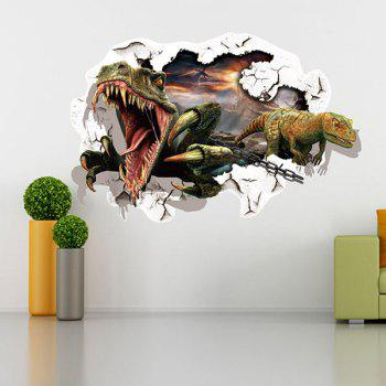 Good Quality Dinosaur Pattern Removeable 3D Wall Sticker Home Decoration