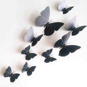 12PCS High Quality Butterfly Shape Removeable 3D Wall Sticker