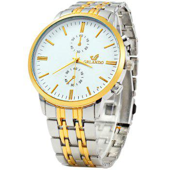 Orlando Z400 Men Quartz Watch Decorative Sub-dials Wristwatch