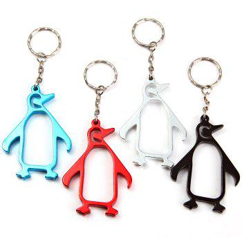 Penguin-shaped Bottle Opener Aluminum Alloy Made - RANDOM COLOR RANDOM COLOR