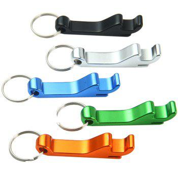 502 Aluminum Alloy Bottle Opener + Stainless Steel Keyring