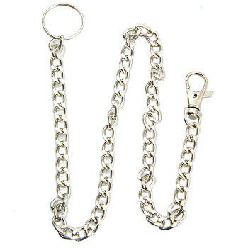 48cm Stainless Steel Anti-lost Chain with Keyring