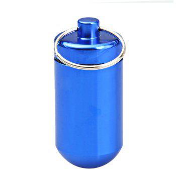 Mini Water Resistant Aluminum Alloy Cylinder Shaped Cartridge - 2PCS 2PCS