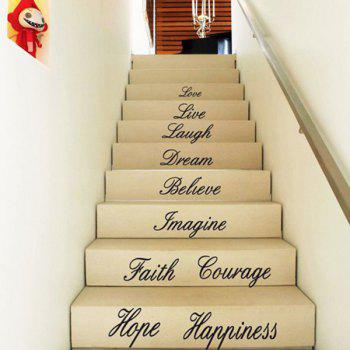 New 58*186cm Letters Love Live Hope Wall Stickers For Homes