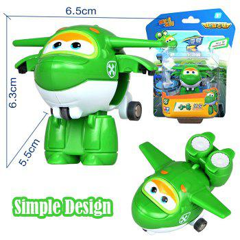 710080 Super Flying Man Tiny Transformation Toy QING Cute Gift for Kids