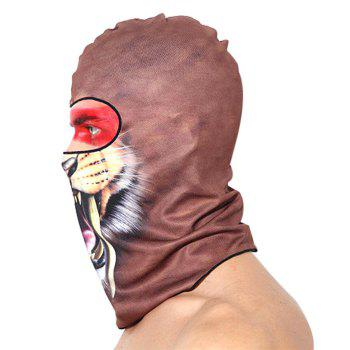 Qinglonglin Summer Floral Print Cycling Face Mask Polyester Made -  BB