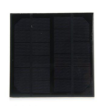3W 6V Monocrystalline Silicon Solar Cell for Making Experiments -  BLACK