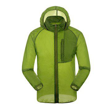 CHAOTA Outdoor Unisex Lightweight UV-resistant Skin Windbreaker - 2XL 2XL