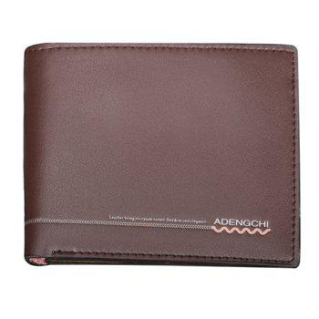 Fashion Solid Color and Genuine Leather Design Money Clip For Men