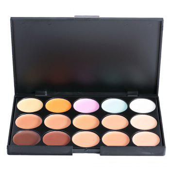 Cosmetic 15 Colors Matte Concealer Camouflage Makeup Palette