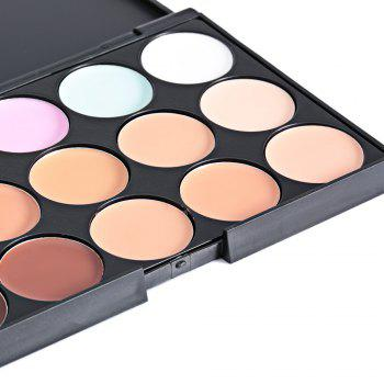 Cosmetic 15 Colors Matte Concealer Camouflage Makeup Palette -  AS THE PICTURE