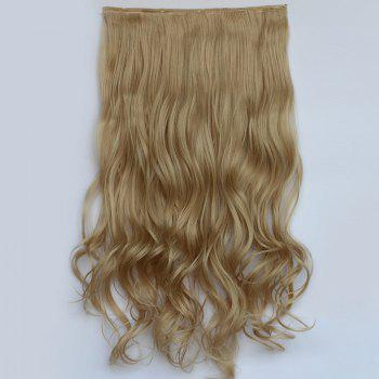 Fluffy Curly Fashion Clip In Heat Resistant Fiber Stunning Long Women's Hair Extension - 22#