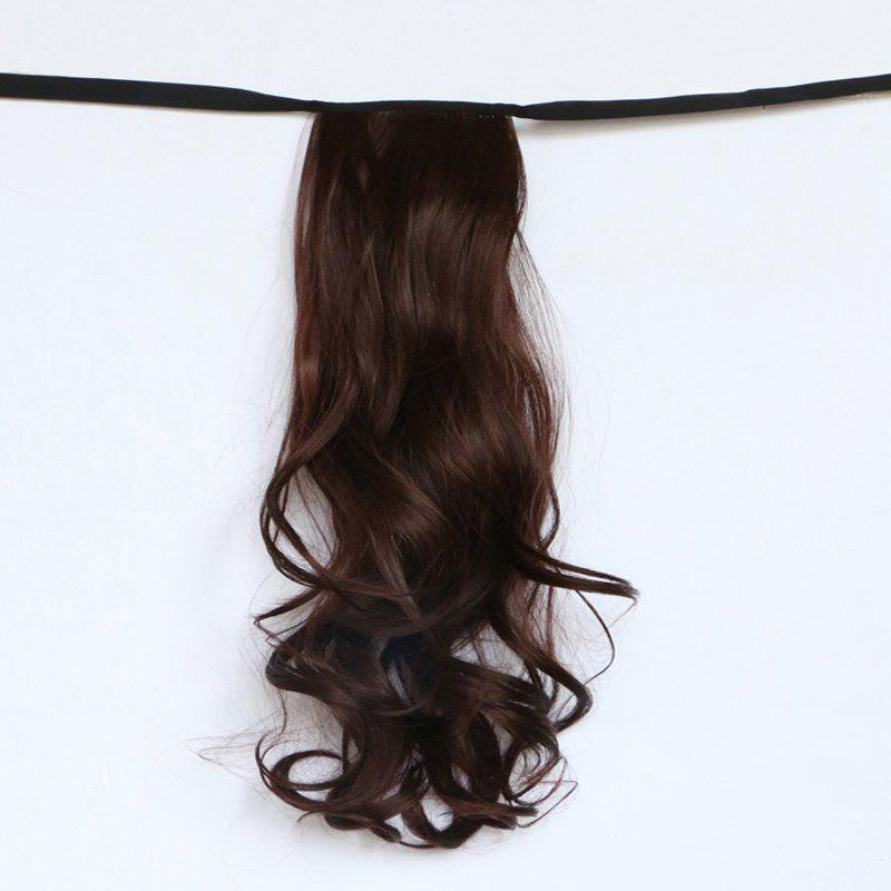 Shaggy Wave Capless Assorted Color Graceful Long Synthetic Women's Ponytail -
