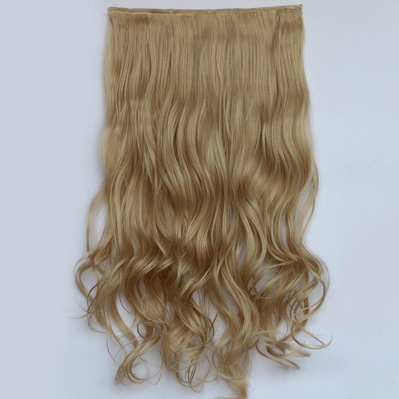 Fluffy Curly Fashion Clip In Heat Resistant Fiber Stunning Long Women's Hair Extension - 22