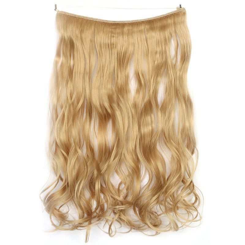 2018 Fluffy Curly Stunning Long Capless Fashion Synthetic Womens