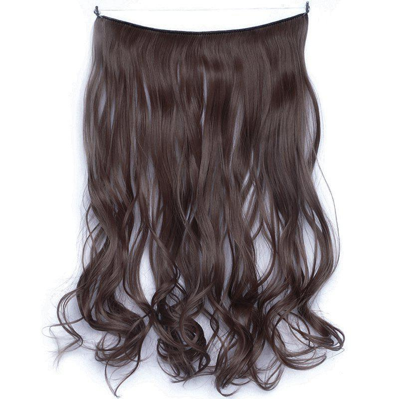 Attractive Shaggy Curly Heat Resistant Fiber Vogue Long Women's Hair Extension - WINE RED 33J