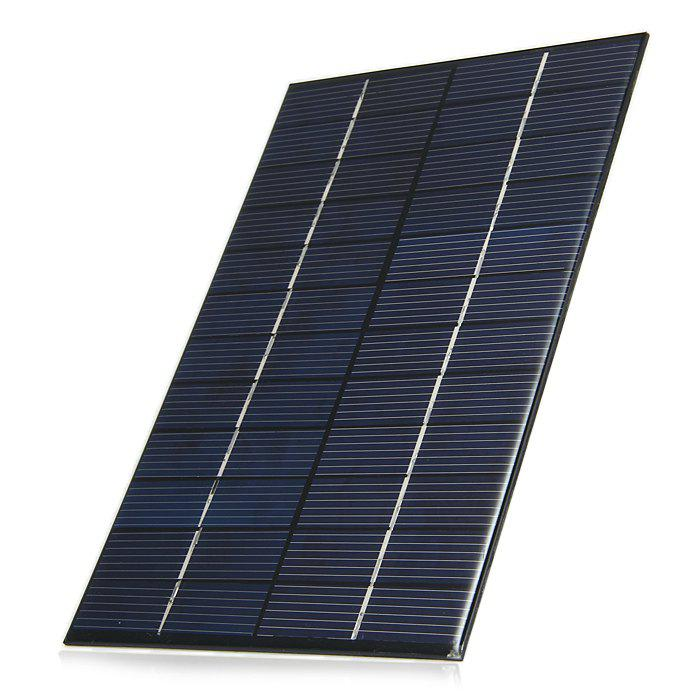 4.2W 12V Polycrystalline Silicon Solar Cell for Making Experiments - BLACK