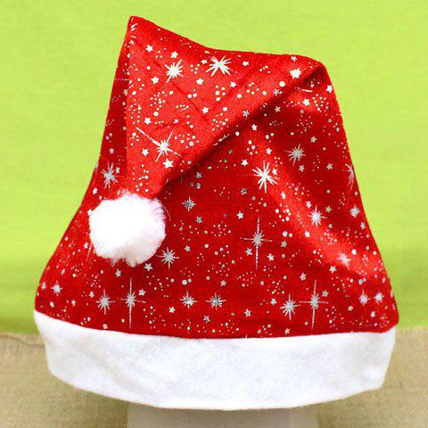 Chic Twinkling Star Embellished Women's Christmas Beanie