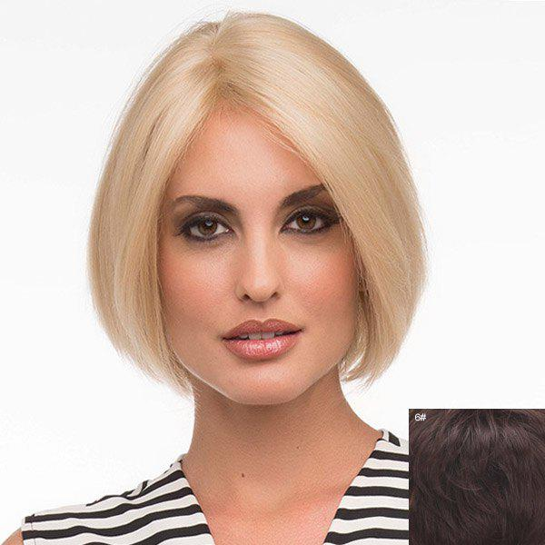 Bob Style Lace Front Charming Straight Sweet Short Middle