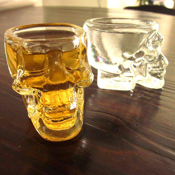 Mini Creative Crystal Skull Transparent Glass Cup HD0307001