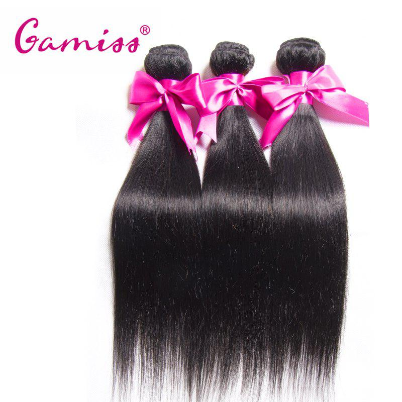 3pcs Virgin Hair Burmese Straight Extension Human Hair WeaveHair<br><br><br>Size: 18INCH*18INCH*18INCH<br>Color: BLACK