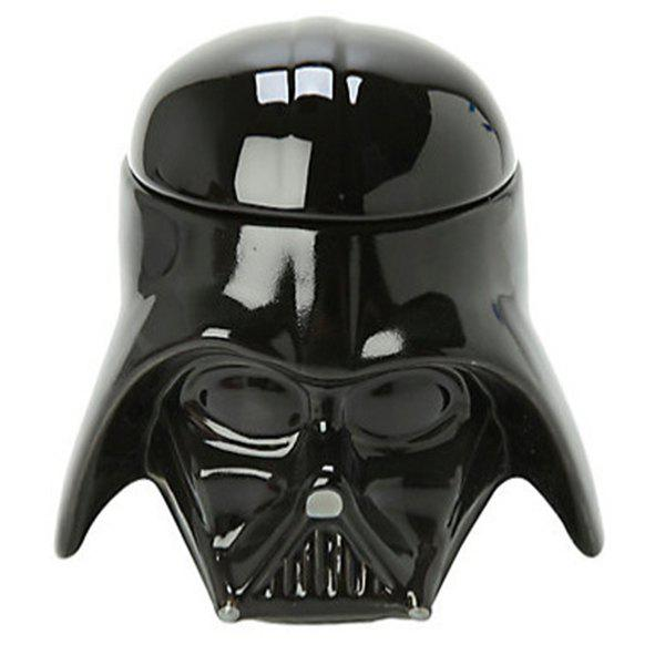 Cool Darth Vader Mug 3D Ceramic Coffee Cup 300ml - BLACK
