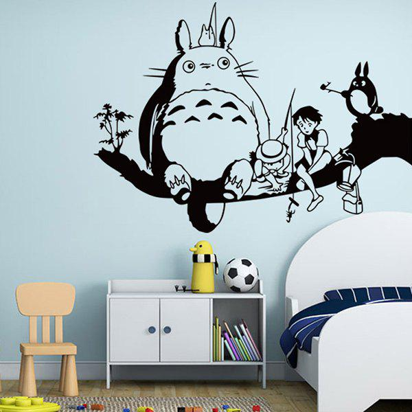 High Quality Removeable Decorative Wall Sticker - BLACK