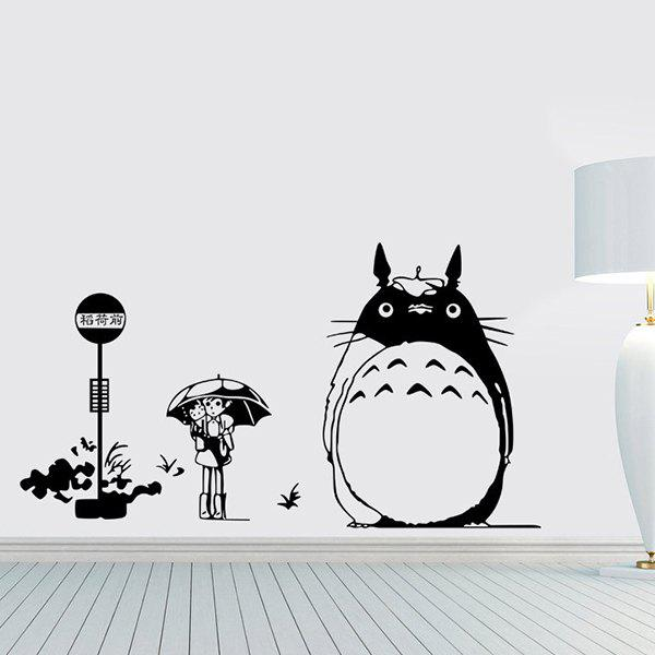 High Quality My Neighbor Totoro Theme Decorative Wall Sticker