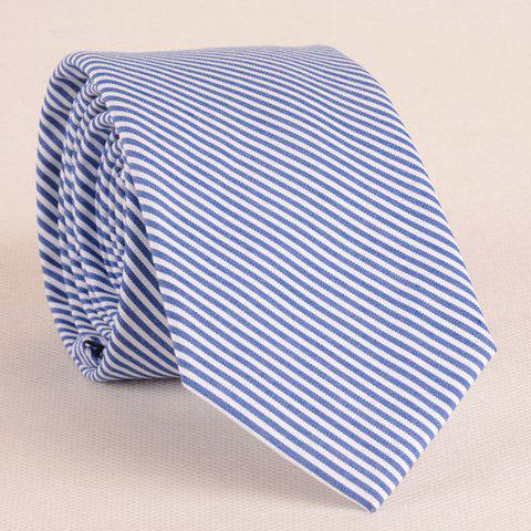 Stylish Twill Pattern 6CM Width Fresh Color Tie For Men