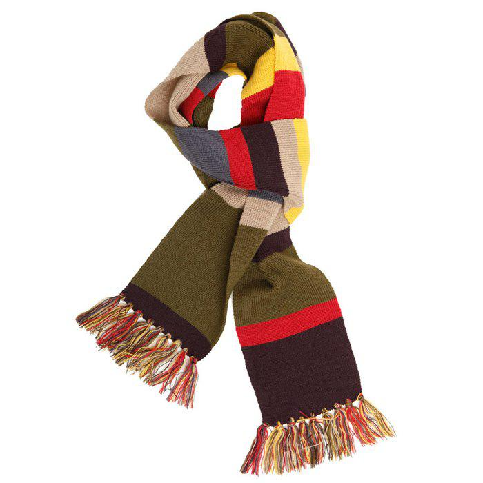 Colorful Winter Warm Keeping Scarf for Men / Women - COLORMIX SHORT TYPE