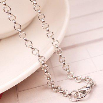 Chic Harry Potter Wand Shape Pendant Necklace For Women - SILVER GRAY