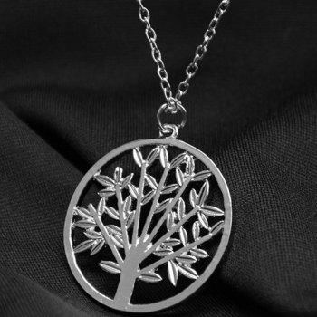 Divergent the Tree of Life Pendant Necklace - SILVER