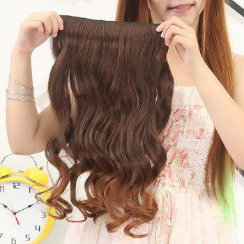 Fluffy Curly Capless Fashion Clip In Synthetic Stunning Long Ombre Women's Hair Extension - OMBRE 2